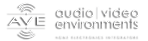 AVE Audio Video Environments