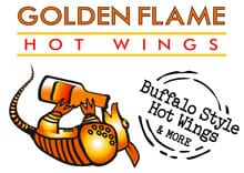 Golden Flames Hot Wings