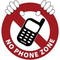 say no to cellphones