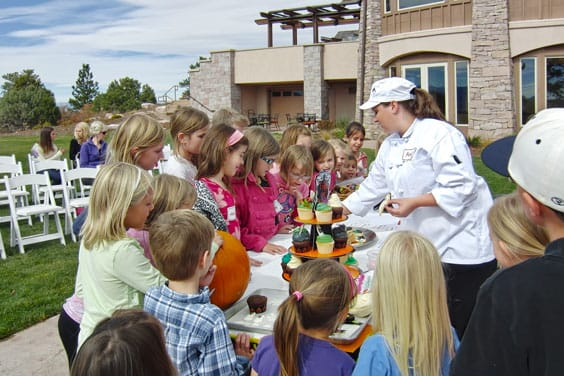 pic of chef with kids