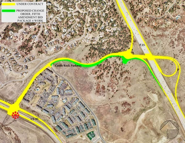 Portions Of The North Meadows Extension Between I 25 And U S Highway 85 Will Be Widened To Four Lanes Prior To Prior To Completion Of The Original Project