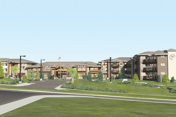 Photo of assisted living facility