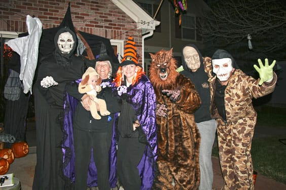 Pic of Halloween kids