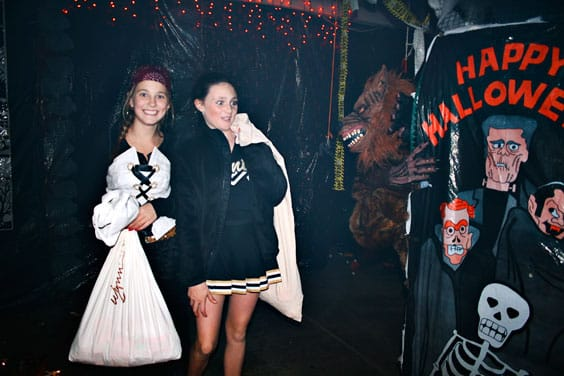 pic of two girls in costume