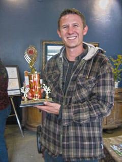 Photo of chili contest winner
