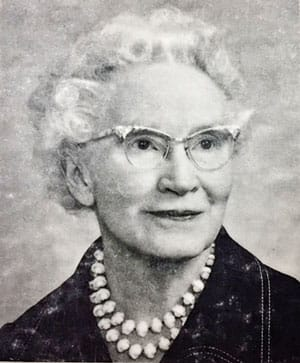 Photo of Sarah A. Gleason