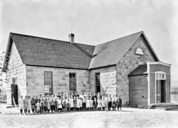 Photo of schoolhouse