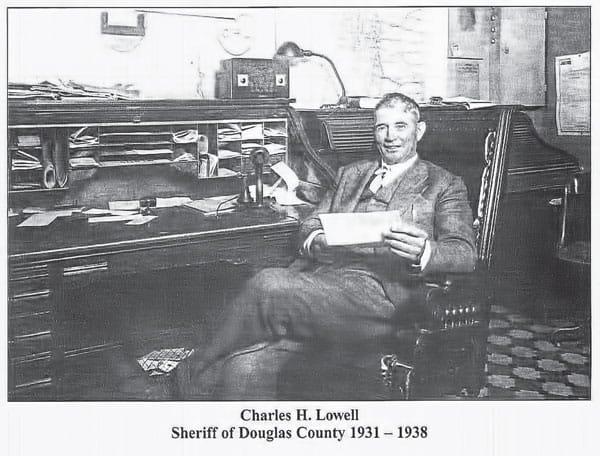 """Photo of Charles """"Bert"""" Lowell,"""