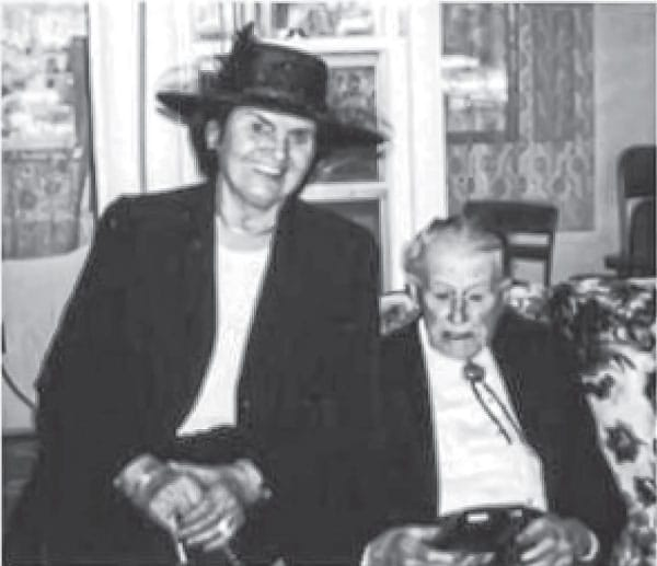 Photo of Luzi with Art Ceresa