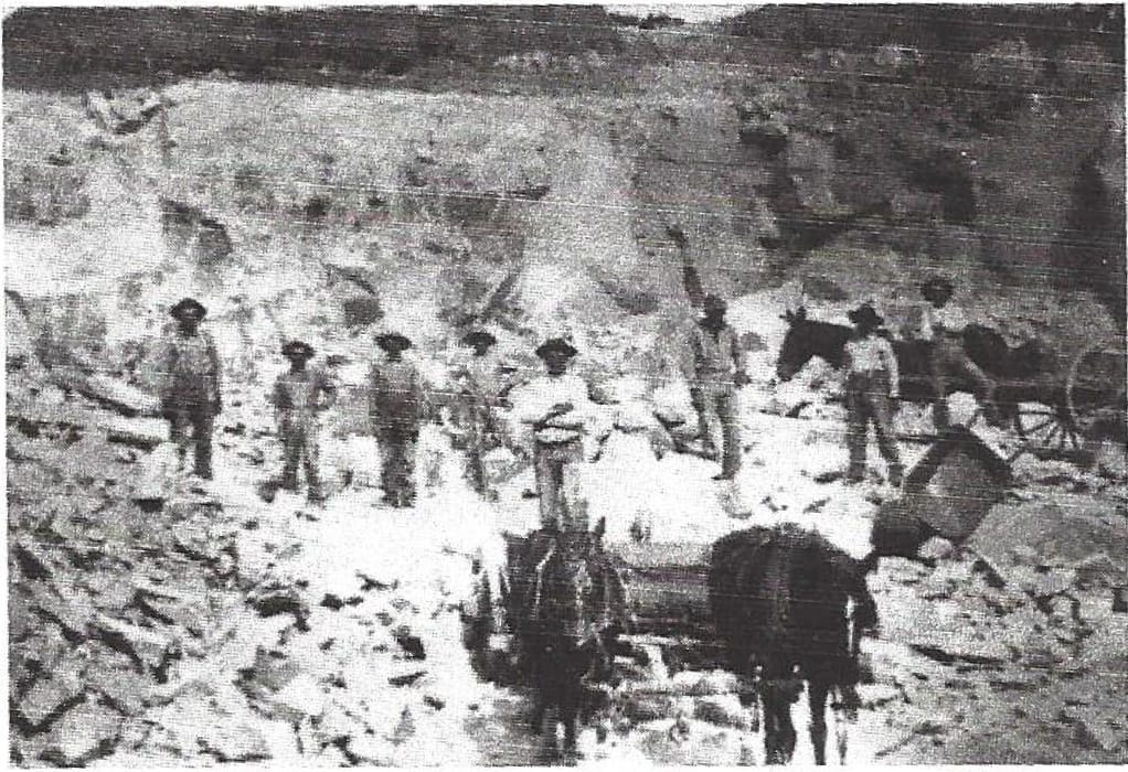Picture of the Santa Fe Quarry