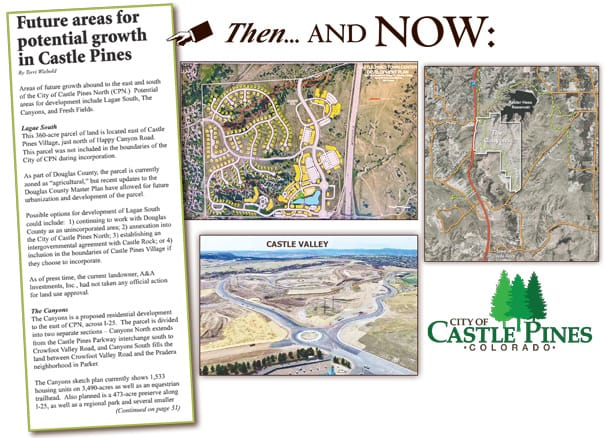 Then and Now…City of Castle Pines | The Castle Pines ...
