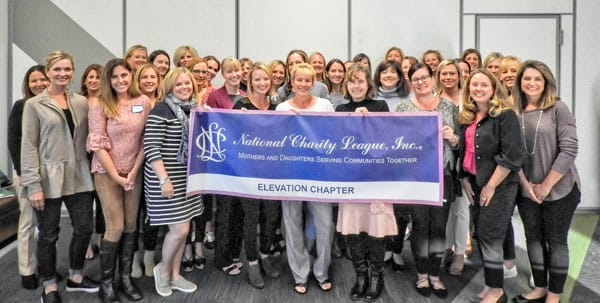 Photo of entire chapter of National Charity League