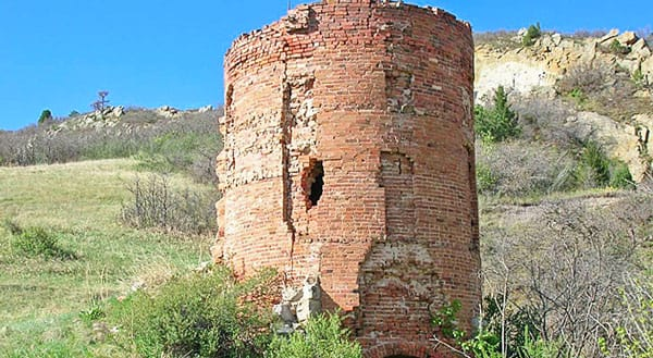 Picture of a lime kiln