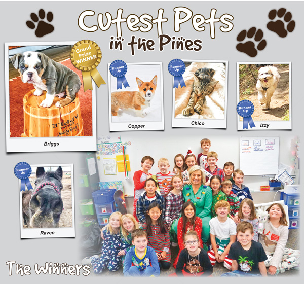 2019 Cutest Pets in the Pines Winners
