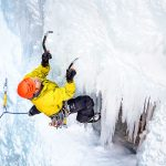 Photo Climber at Ouray Ice Festival