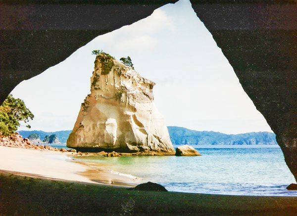 Photo: Cathedral Cove on the Coromandel Peninsula