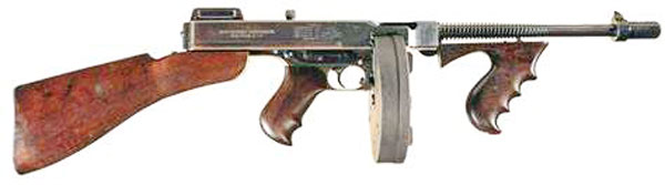 Picture of submachine gun
