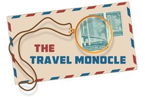 Graphic of Travel Monocle Logo