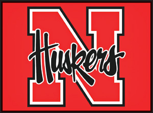 Graphic Nebraska Huskers Logo