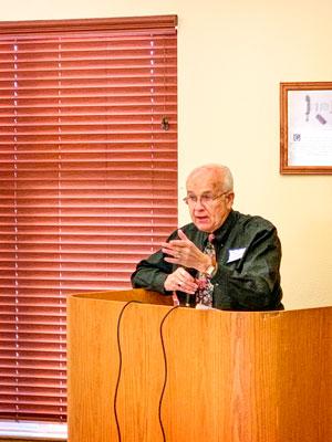 Photo of Joe Gschwendtner historian