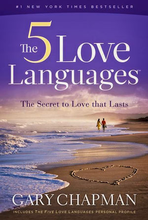 Cover of The Five Love Languages: How to Express Heartfelt Commitment to Your Mate.