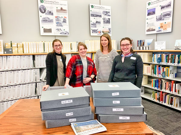 Photo of Douglas County Library Archivists