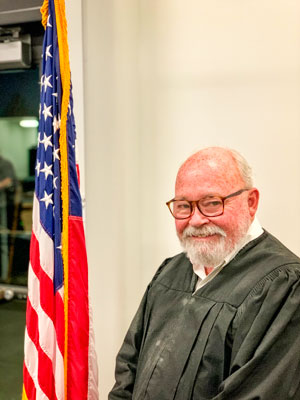 Photo: Judge Louis Gresh