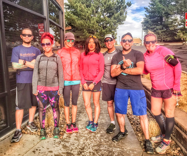 Photo of Castle Pines running group