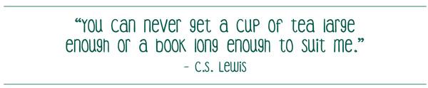 Graphic of CS Lewis Quote