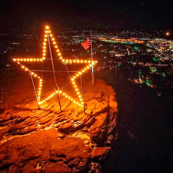Photo of star in Castle Rock