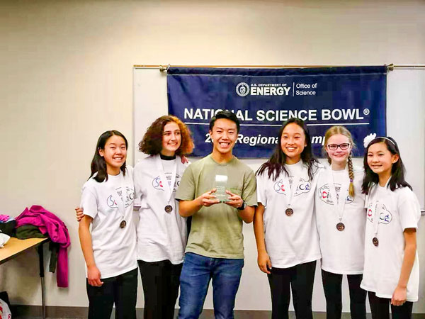 Photo Rocky Height Regional Science Bowl Students