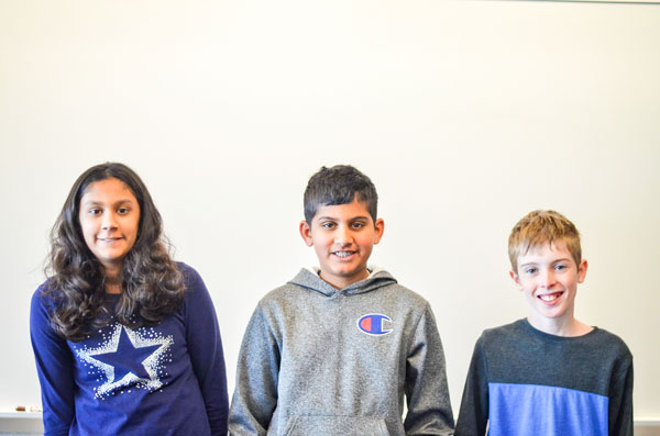 Photo of RHMS Spelling Bee Winners