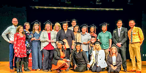 Photo of leaders from the Manna Connect personal development program