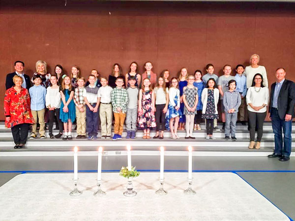 Photo BRE's first National Elementary Honor Society induction