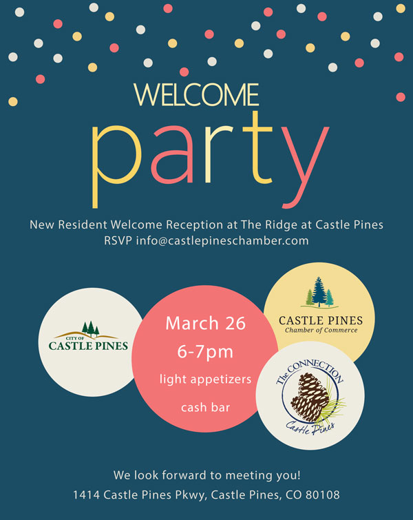 Chamber Welcome Party ad