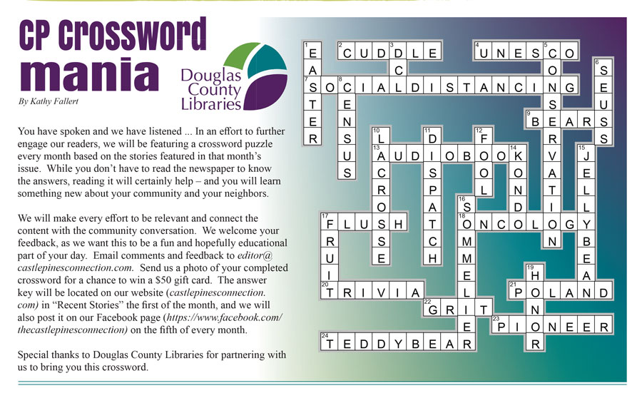Image of CP April 2020 crossword puzzle with answers