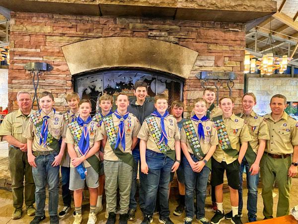Boy Scout Troop 365 in Castle Pine