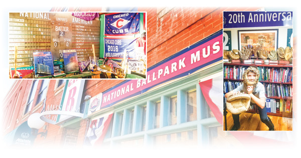 Photo collage of National Ballpark Museum Denver