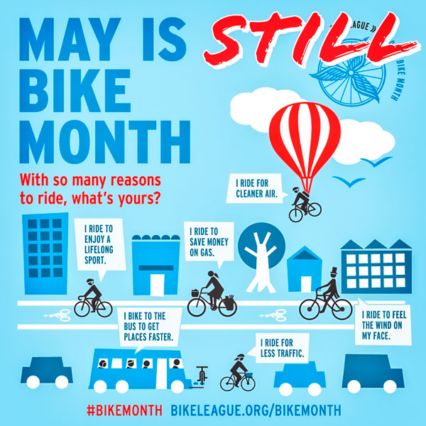 2020 National Bike Month Poster