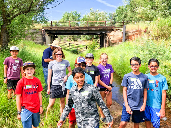 Photo of Douglas County Conservation District youth camp