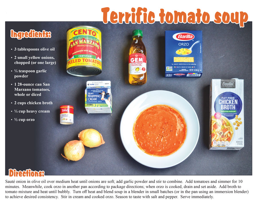 Food Lab: Tomato Soup