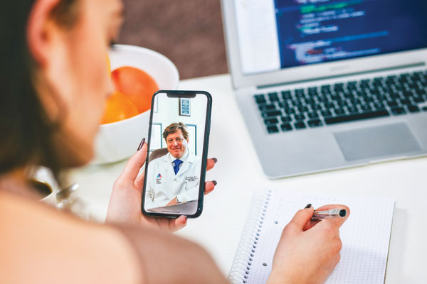 Photo of telemedicine: Healing from a distance