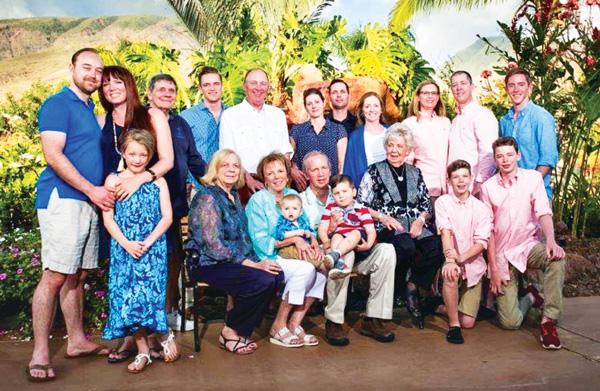 Photo of Wright family vacation