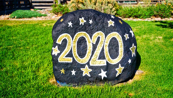 Photo of 2020 painted rock