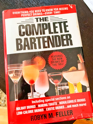 "Photo of ""The Complete Bartender"" book"