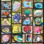 Photos of painted rocks
