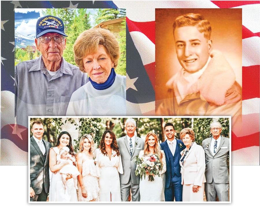 Photo collage of Solomon Castleberry's family