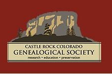 Castle Rock Geneological Society Logo