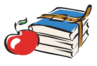 Apple School books logo