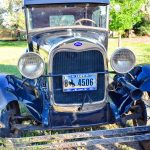 Photo of Mark Clingman enjoys sharing his great-grandfather's 1929 Ford